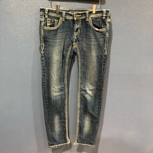 Skinny Rock&Roll Cowgirl Jeans.